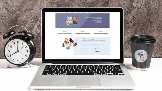 Website công ty Monkey Media