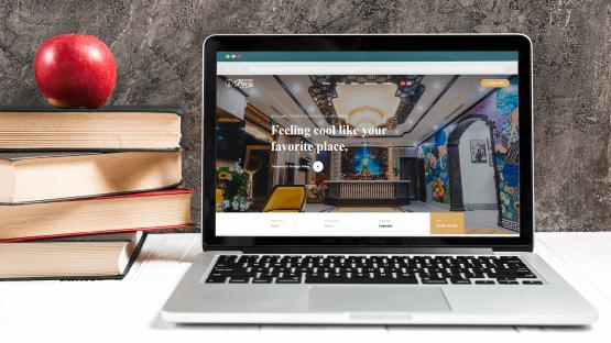 Thiết kế website Khách sạn Paris Boutique Hotel