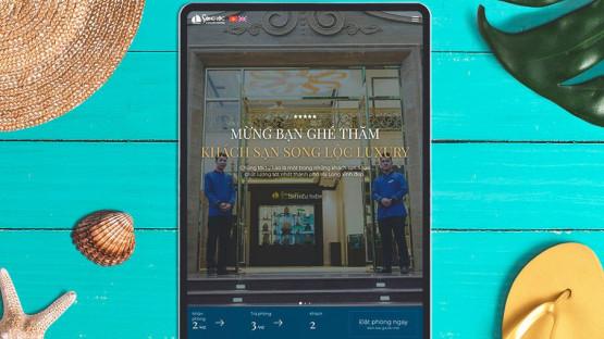 Website Khách sạn Song Lộc Luxury